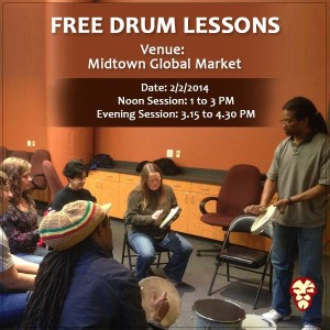 african drum lessons