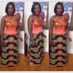 African Clothing - Oyin Skirt