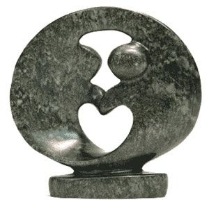 Abstract Stone Couple Made in Zimbabwe
