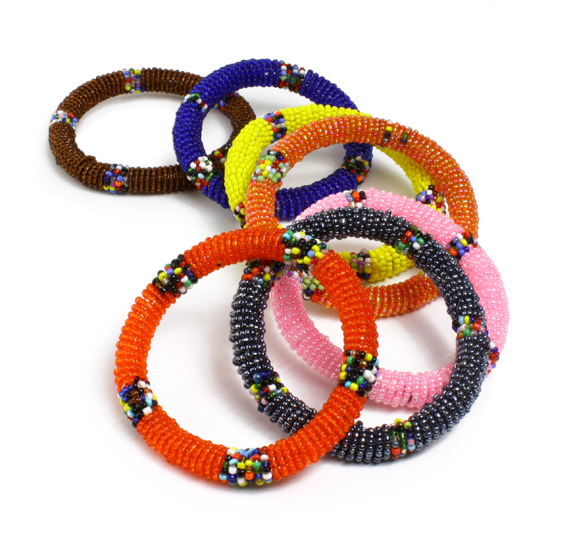Handcrafted African Beaded Bracelets